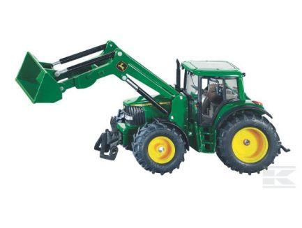 Tracteur John Deere 6920 avec chargeur frontal