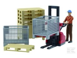 Kit logistique avec figurine