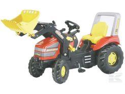 Tracteur à pédales X-Trac avec chargeur frontal Rolly Toys R04677