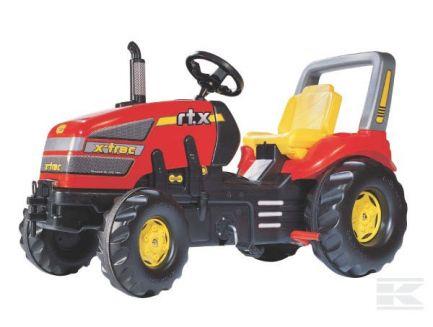 Tracteur à pédales X-Trac RTX Rolly Toys R03556
