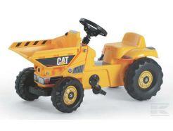Tracteur à pédales Caterpillar Dumper Rolly Toys R02417