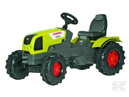 Tracteur à pédales Claas Axos 340 Rolly Toys R60104
