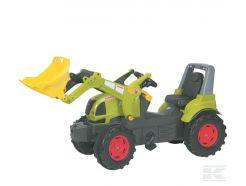 Tracteur à pédales Claas Arion 640 avec chargeur Rolly Toys R71023