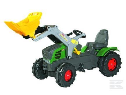 Tracteur à pédales Fendt 211 Vario avec chargeur Rolly Toys R61105