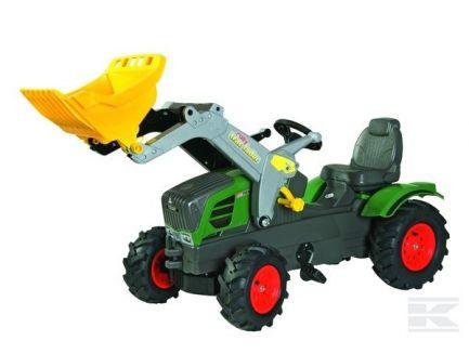 Tracteur à pédales Fendt 211 Vario avec chargeur et pneus gonflables Rolly Toys R61108