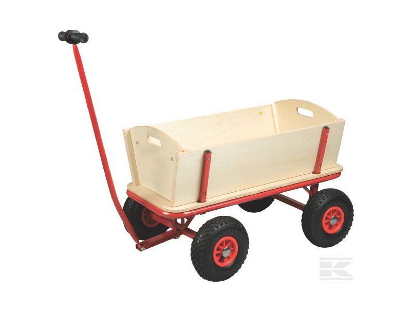 chariot en bois pour enfants 750010 polet jpr loisirs. Black Bedroom Furniture Sets. Home Design Ideas