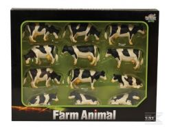 Lot de 12 vaches Kids Globe 571929