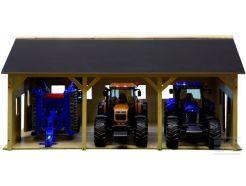Hangar en bois Kids Globe 610340