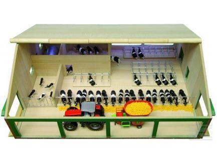 Etable en bois échelle 1:32 Kids Globe 610495