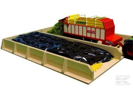 Silo-fosse à ensilage échelle 1/32 Kids Globe 610451