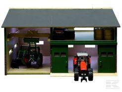 Hangar avec atelier en bois échelle 1/32 Kids Globe 610410