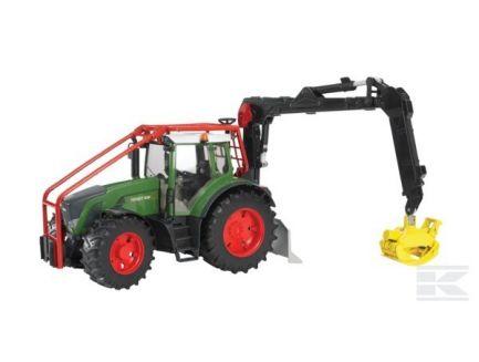 Tracteur Fendt 936 Vario avec équipement forestier 03042