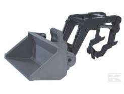 Chargeur frontal pour tracteurs série 02100 Bruder 02009