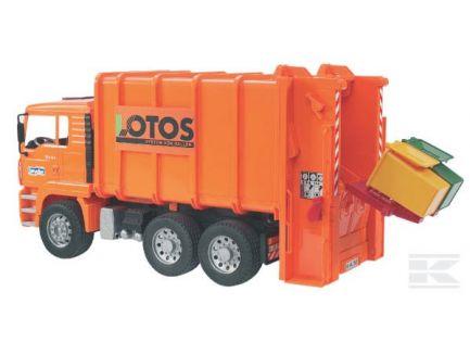 Camion Man TGA benne à ordures Bruder 02762