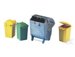 Lot de poubelles pour camion benne à ordures Bruder 02606