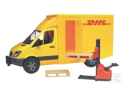 Camion DHL avec transpalette Bruder 02534