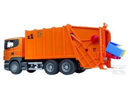Camion poubelle Scania Bruder 03560