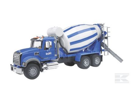 Camion Mack Granite toupie à béton Bruder 02814
