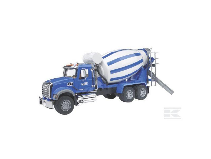 camion mack granite toupie b ton bruder 02814 jpr loisirs. Black Bedroom Furniture Sets. Home Design Ideas
