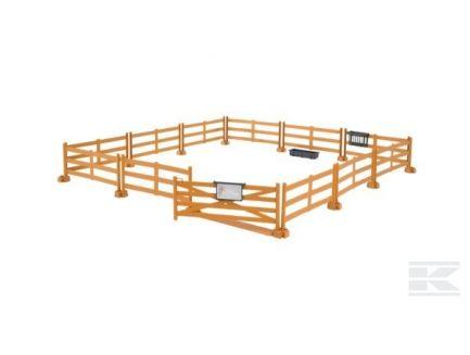 Kit clôture marron avec accessoires Bruder 62602