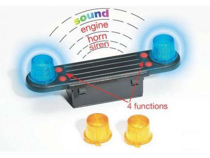 Module sonore et lumineux pour camions échelle 1/16 Bruder 02801