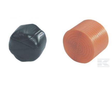 Balles de foin rondes assorties