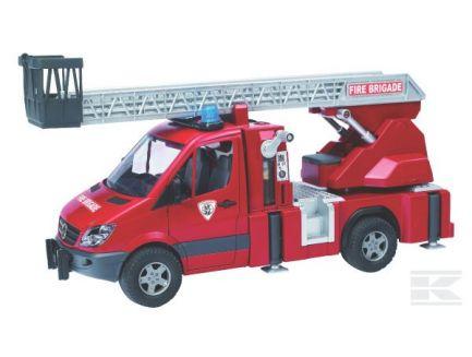 Camion de pompiers MB Sprinter avec échelle