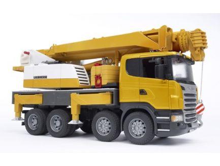 Camion grue Liebherr