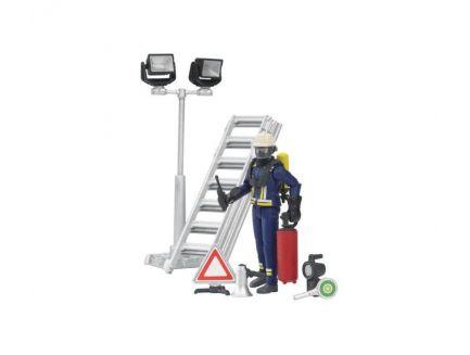 Pompier avec accessoires Bruder 62700