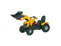 Tracteur à pédales JCB 8250 V Tronic avec chargeur Rolly Toys R60100