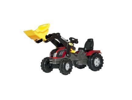 Tracteur à pédales Valtra T163 avec chargeur frontal Rolly Toys R61115