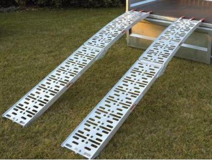 Paire de rampes aluminium pliantes