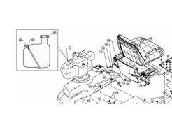 Bouchon de réservoir d'essence MTD751-12428