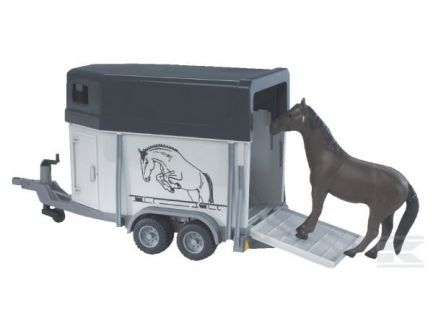Van avec 1 cheval