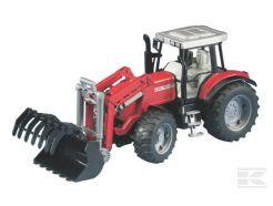 Tracteur Massey Ferguson 7480 avec chargeur