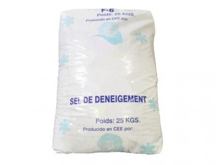 Sac de 25 Kg de sel de déneigement