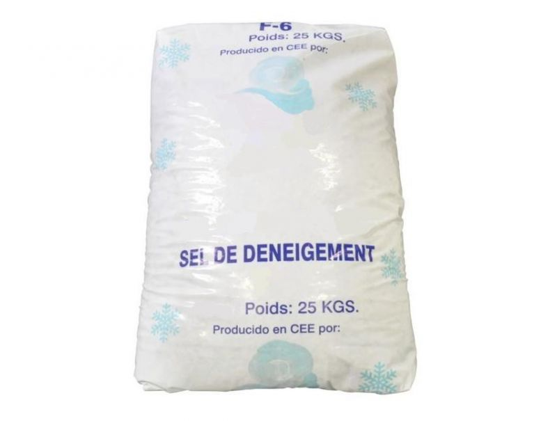 Sac de 25 kg de sel de d neigement jpr loisirs for Sac de sel piscine