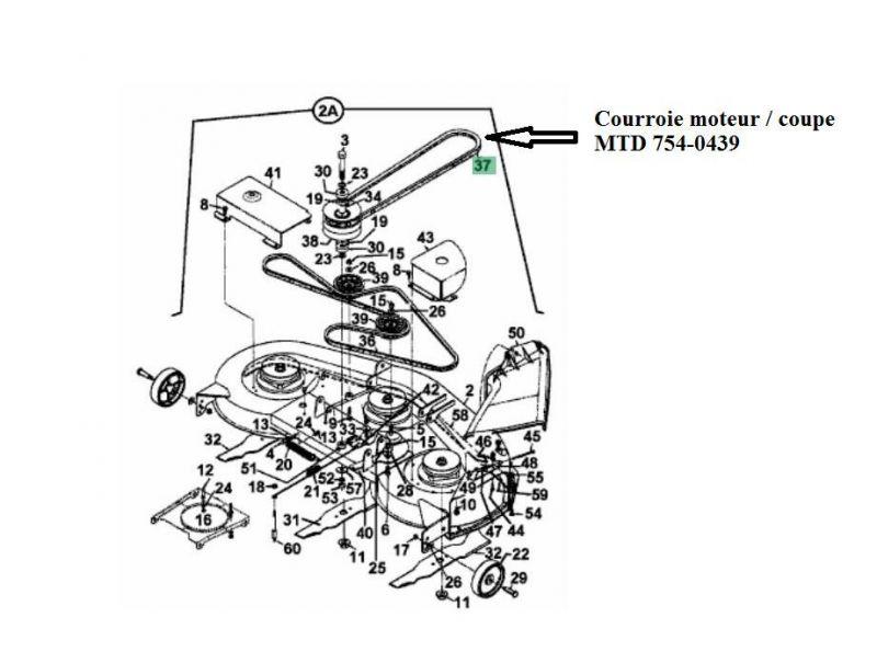 schema montage courroie tracteur tondeuse mtd  schema montage courroie tracteur tondeuse mtd