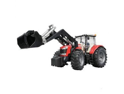 Tracteur Massey Ferguson 7600 avec chargeur frontal 03047