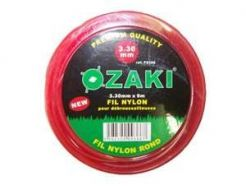 fil nylon rond ozaki diam 2,7 mm long 12 m