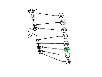 Pignon de direction MTD 748-0290