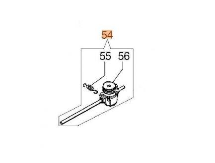 Boîtier de traction pour tondeuse Oléo-Mac 66070017DR