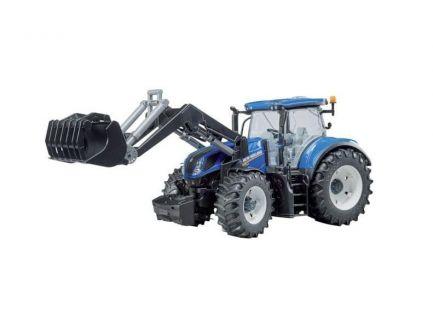 Tracteur New Holland T7.315 avec chargeur BRUDER 03121