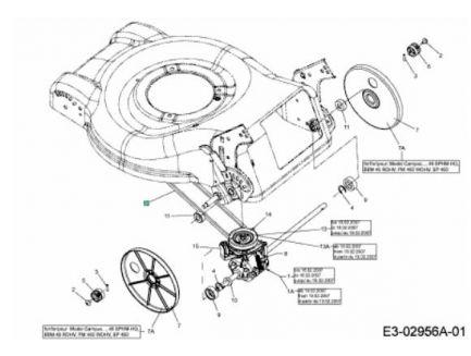 Courroie de traction MTD 75404121