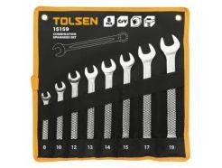 Lot de 8 clés mixtes TOLSEN