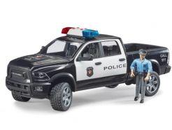 4X4 de police RAM 2500 avec policier BRUDER 02505