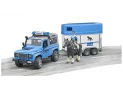 Land Rover Defender Police avec remorque