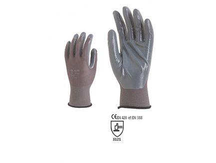 Gants enduits tailles 6 à 11 ( idéal pour le jardin ou l'atelier )